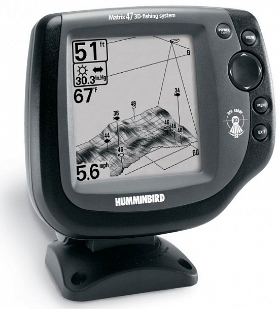 эхолоты humminbird matrix 17 fishing system