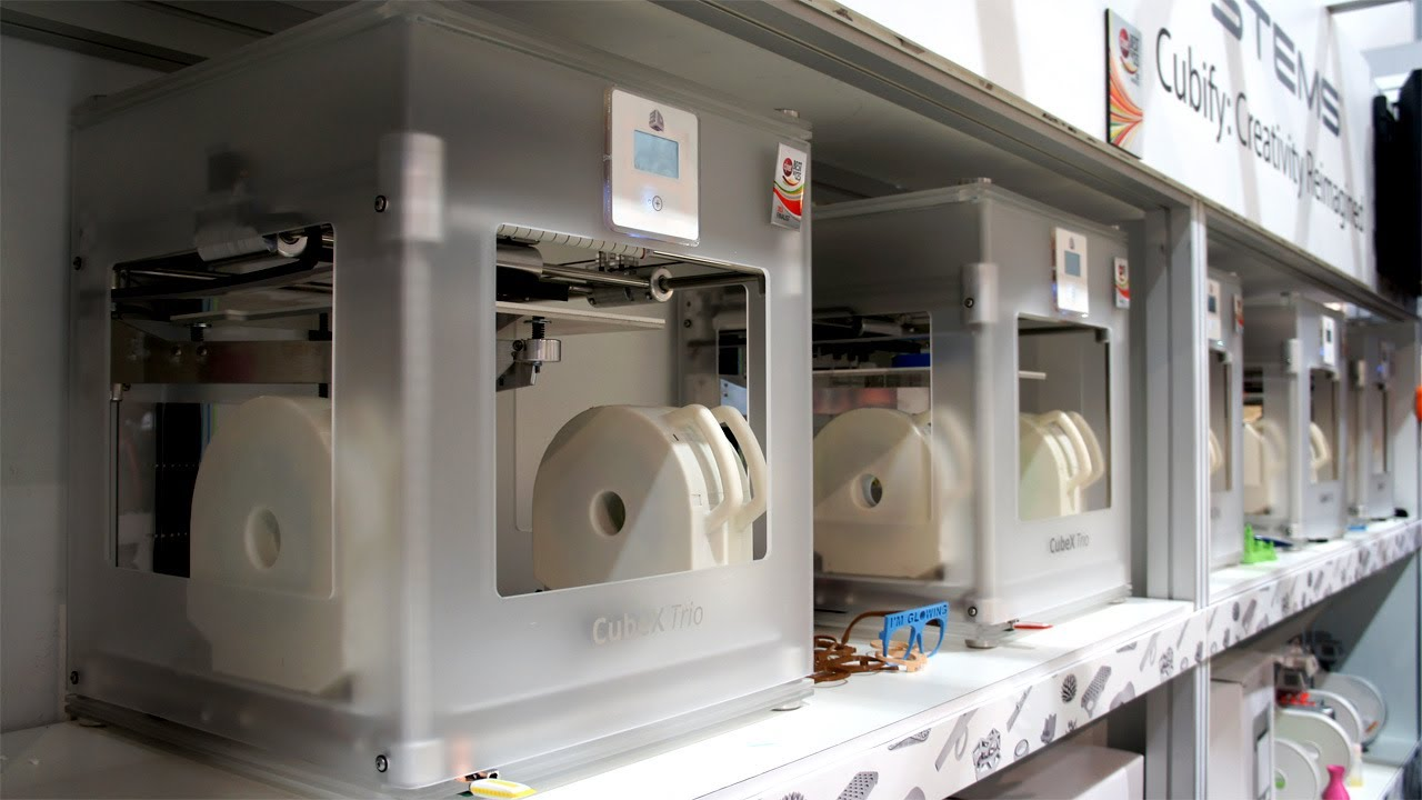Обзор 3d принтера systems cubex trio
