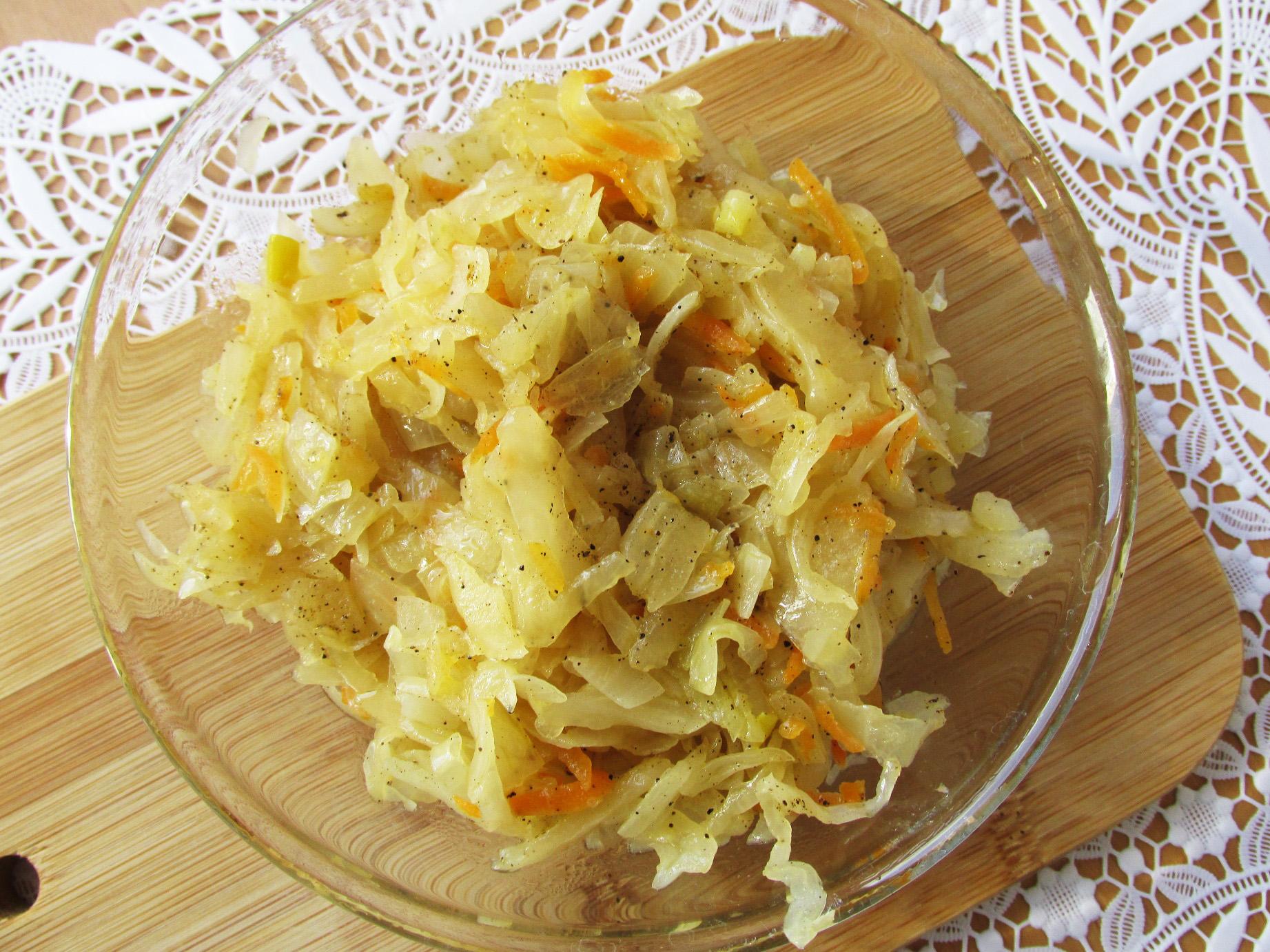 Начинка для пирожков с капустой пошаговый рецепт