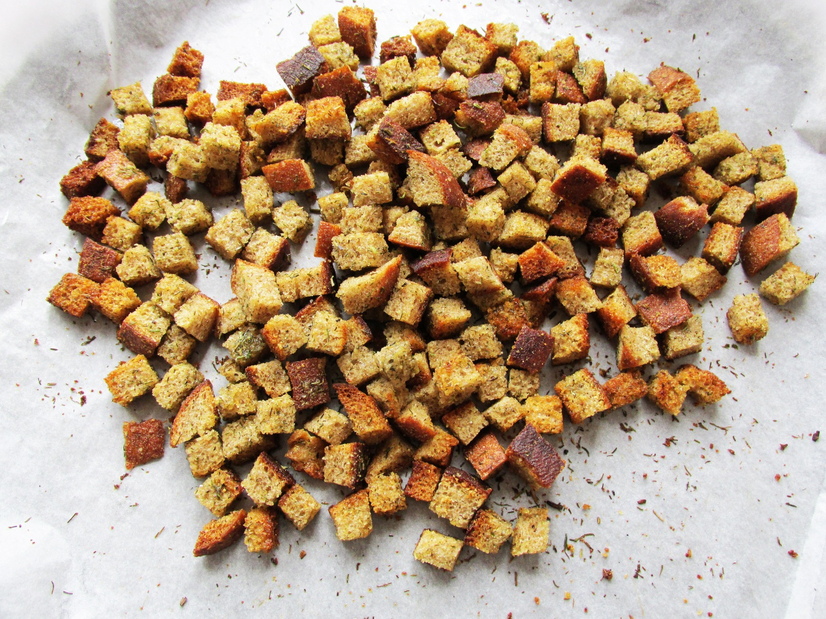 Сухарики для цезаря в духовке рецепт