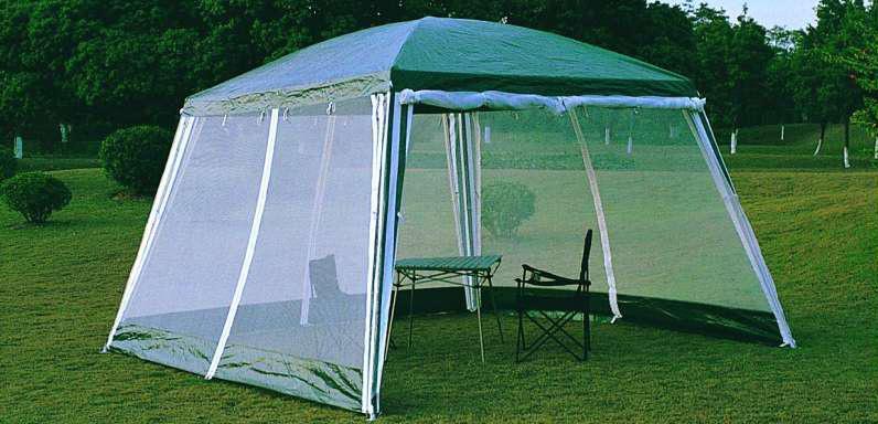 Простой шатер