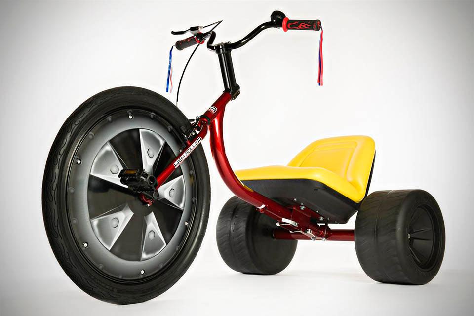 Детский трёхколёсный велосипед своими руками