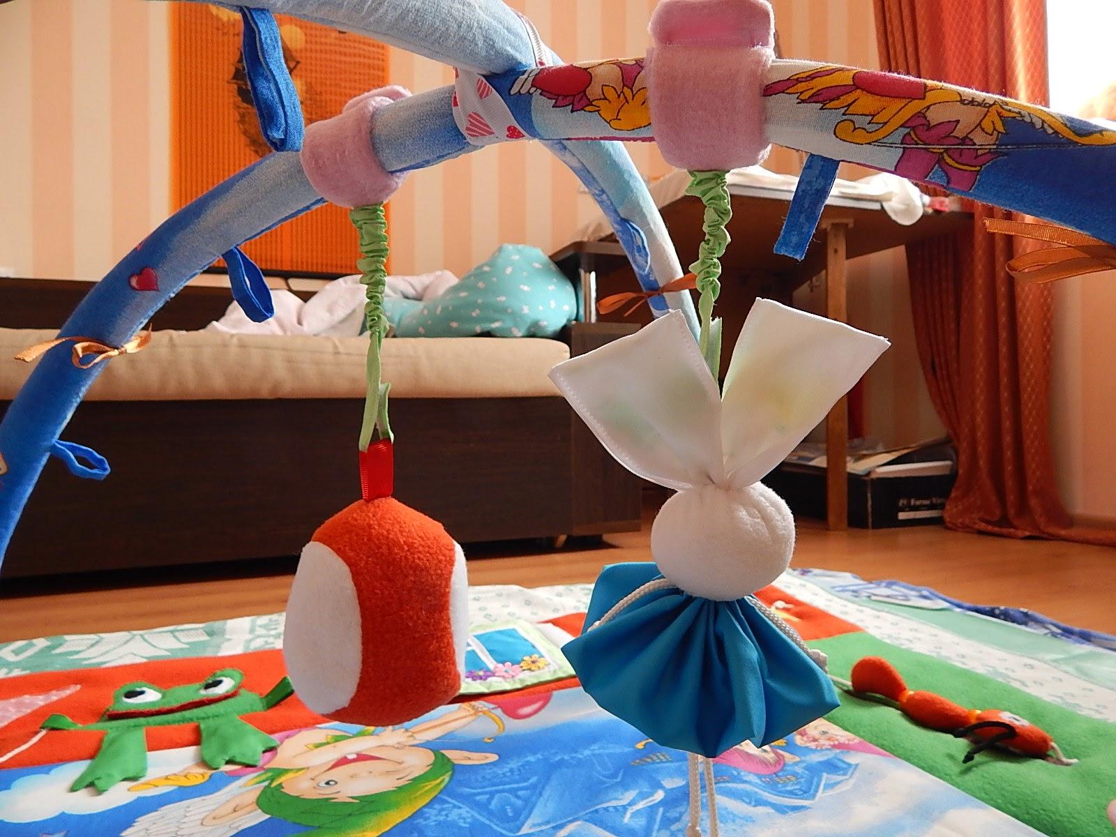 Как сделать детский коврик с дугами своими руками